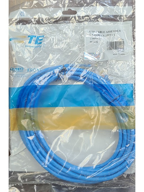 TE Connectivity Cat 6 cable (15 Feet/4.572 m)